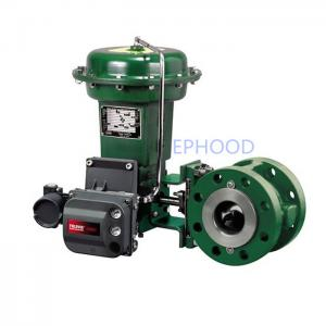 China Fisher 1052 Spring Return Diaphragm Rotary Actuator For Control Valve on sale