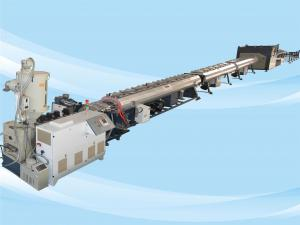 China Low Noise Plastic Pipe Production Line Good Plasticization And Stable Extruding on sale