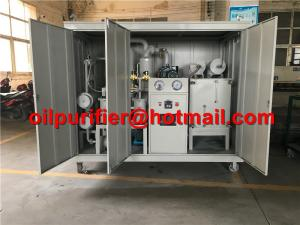 China Hot ! Transformer Oil Filtration Plant, MIneral Dielectric Insulator Oil Purification Machine with weather-proof canopy on sale