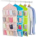 PP Non Woven Fabric Shoe Storage Bags Hanging Shoe Rack Good Breathability