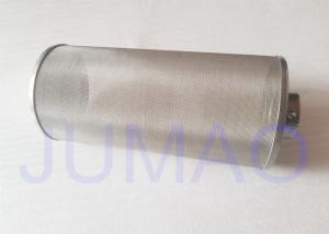 China 150mm Single Layer Metal Wire Mesh Filter Tube Applied Liquid Filteration on sale