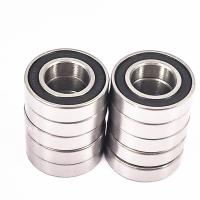 Chrome Steel 10X19X5mm Precision Ball Bearing Rubber Seals 6800-2RS