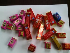 China SC-2012 chocolate fold wrapping machine on sale