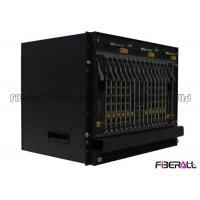 Dual Power Supply Optical Line Terminal , 10g EPON OLT Terminal With 40 PON SFP Slots