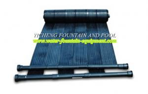 China Water Solar Heating Swimming Pool Control System EDPM Panels For Commercial Pools on sale