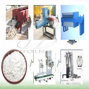 China Large Capacity Automatic Cassava Flour Processing Machine supplier
