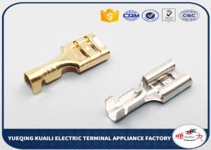 China D6.3B wire harness terminal, automotive brass crimp terminal connectors on sale