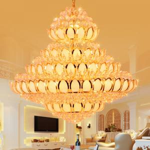 China Big Candle Chandelier Pendant Hotel Project Pendant lighting (WH-NC-11) on sale