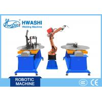 Motor Cycle Frame Automatic Welding Robot , Metal Frame Industrial Robot Welding Machine