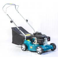 Plastic Deck Material Garden Electric Mowers 4 Wheels Individual 400mm Cutting Width