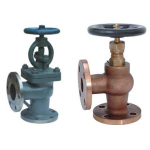 China Screw Down None Return Valve Globe Design With Angle Type DN15 ~DN200 Size on sale