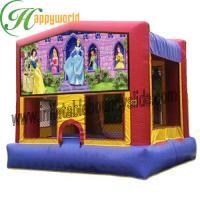 OEM Tarpaulin 0.55mm Inflatable Commercial Bouncy Castle For Children