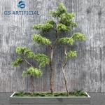 Anti - UV Artificial Decorative Trees , Plastic Fake Pine Trees Branch