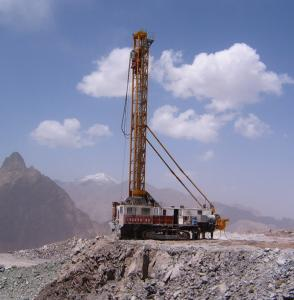 China KY-250D Open Pit Mine Blast Hole Drilling Rig on sale