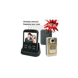 China Wireless Intercom Peephole Door Viewer on sale