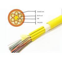 China 8/10/12 Cores Bulk Fiber Optic Cable , 2 Core Fiber Optic Cable Break Out Tight Buffer on sale