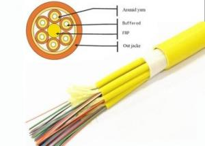 China Breakout fiber optic cable,12/24/36/48/72/144 core G652D SM/MM/OM3/OM4  indoor cabling multicore optical fiber cable on sale