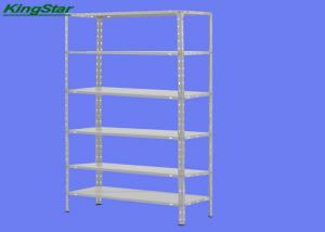 China High Capacity Metal Frame Storage Rack With Plastic Protection Feet , 6 Layers on sale