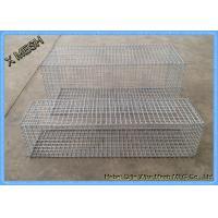 DIN EN ISO 17660 Galvanized Gabion Baskets Fence High Alloyed Steel Wires