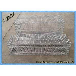 China DIN EN ISO 17660 Galvanized Gabion Baskets Fence High Alloyed Steel Wires on sale