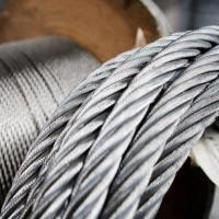 China AISI 316 Extremely Flexible Stainless Steel Wire Rope 7x19 For Standing Rigging on sale