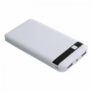China Square Portable 8000mAh Backup Battery Pack LCD Power Bank For Mobile Phone on sale