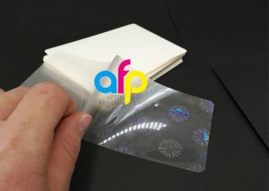 China Hologram Laminating Pouches Matte Finish / Glossy on sale