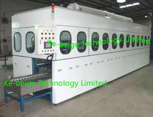 China Automatic Metal Stamping Parts Ultrasonic Cleaning Machine KBG-120300STGF , CE on sale