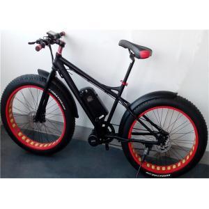 China 6061 T6 Aluminum Electric Fat Tire Bike Shimano 7 Speed Mountain Bike on sale