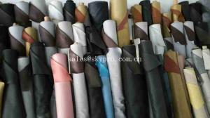 China Solid Colors Non - woven Backing Synthetic Leather PU Leather with Colorful Printed Fabric on sale