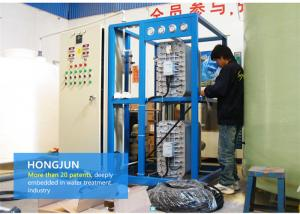 China 6t RO EDI Water Plant , Containerized Purification Equipment 220V / 380V on sale