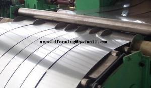 China Automatic Steel Slitter Machine Carbon Steel With Scrap Rewind Device on sale