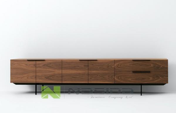 Large Modern Bedroom Furniture Wood Storage Cabinets , Pastoe ...