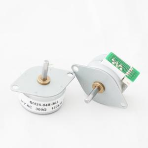 China 24V AC Synchronous Motor , 24 Pole Synchronous  Permanent Magnet Stepper Motor SM25-048 on sale