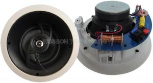 China 6.5 bevel face plate ceiling mounted speakers 8 ohm 30 watts on sale