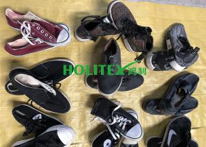 China Summer Used Clothes Shoes , Mixed Size Second Hand Casual Shoes For Men on sale