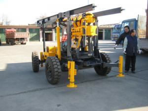China Portable Geological Drilling Rig Compact High Rigidity Mechanical Transmission on sale