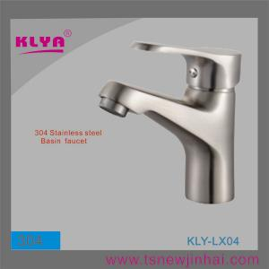 China 304 Stainless Steel Bathroom Sink Faucets on sale