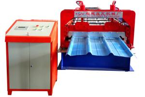 China Roll Forming Metal Roofing Tiles Making Machine For Building Material Machinery on sale