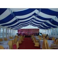 Waterproof Large Music Festival Tent With Colorful Lining , PVC Fabric Tent