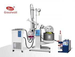 China Alcohol/Water distillation equipment- 5L Rotary Evaporator R-1005 on sale