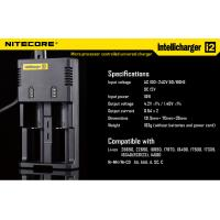 Newest Nitecore i2 charger Intellichage Multifunctional Ni-MH/Ni-Cd/AA AAA battery charger