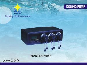 China 3W 100 - 240V Automatic Aquarium Dosing Pumps With 3 Pieces Peristaltic Pump, Master Pump on sale