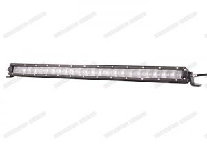 China 120W 5W Single Row LED Light Bar 4D Lens For Driving Offroad SUV ATV Truck on sale