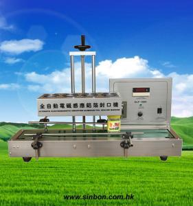 China Auto Continous Induction Cap Sealing Machine aluminium foil sealing machine for bottles on sale