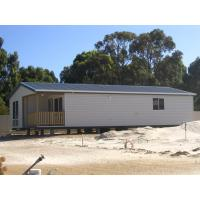 Safty Steel Frame Prefab Granny Units With Big Size Flat Packed
