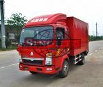 2 - 3 Tons Light Duty Cargo Van Box Truck, 90HP 4x2 Commercial Box Truck