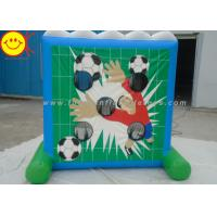 China Funny Inflatable Sports Games / Inflatable Shooting Game Soccer Goal Shooting Goals on sale