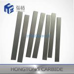 Woodcutting Tungsten Carbide Square Bar / Carbide Wear Strips Wear Resistant