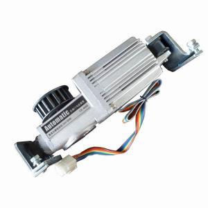 Square Brushless Dc Motors Automatic Sliding Door Motor 24v 3200rpm Worm Gear Box For Sale